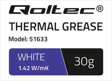 Qoltec Thermal Grease 1.42 W/m-K 30g