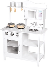 Bino Kitchen With Accessories White