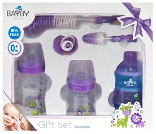 Комплект Bayby Gift Set BGS6200, 0 мес., 370 мл, 6 шт.