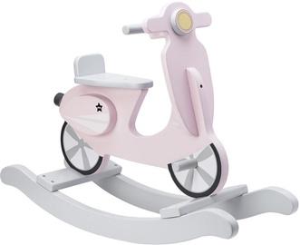 Конь-качалка Kids Concept Rocking Scooter Pink/White