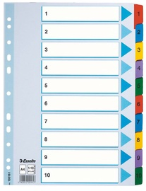 Esselte Document Divider Book 10 Numbers