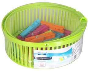 Coronet Soft Line Laundry Pegs Plastic 20pcs