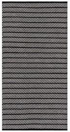 Ковер 4Living Oka White/Black, многоцветный, 140x200 см