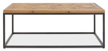 Kohvilaud Home4you Indus Mosaic Oak/Grey, 1140x600x420 mm