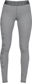 Under Armour Womens Favourite Wordmark Leggings 1329318-012 Grey L