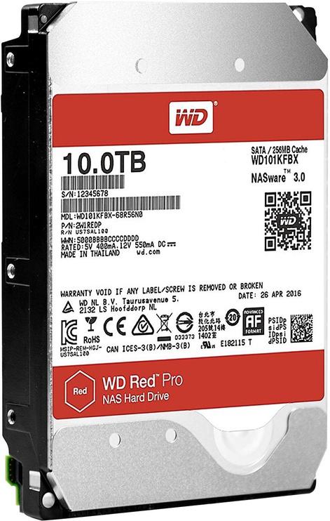 Western Digital Red Pro 10TB 7200RPM SATAIII 256MB WD101KFBX