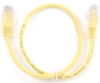 Gembird CAT 5e UTP Patch Cable Yellow 0.25m