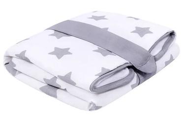 Lulando Waterproof Diaper Changing Mat Grey Stars On White