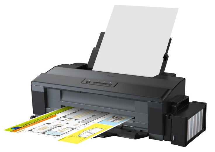 Rašalinis spausdintuvas Epson L1300, spalvotas