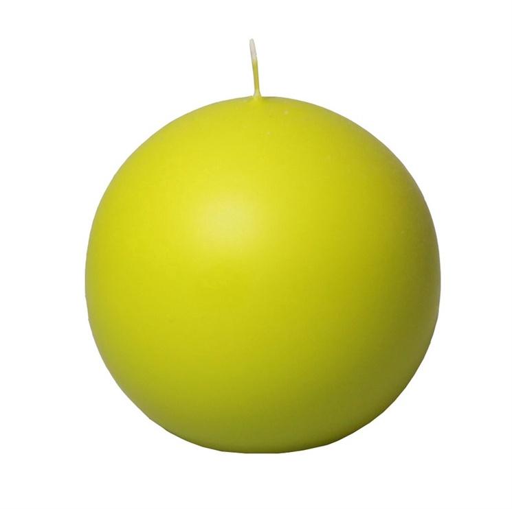 Свеча SN Round Candle D8cm Green