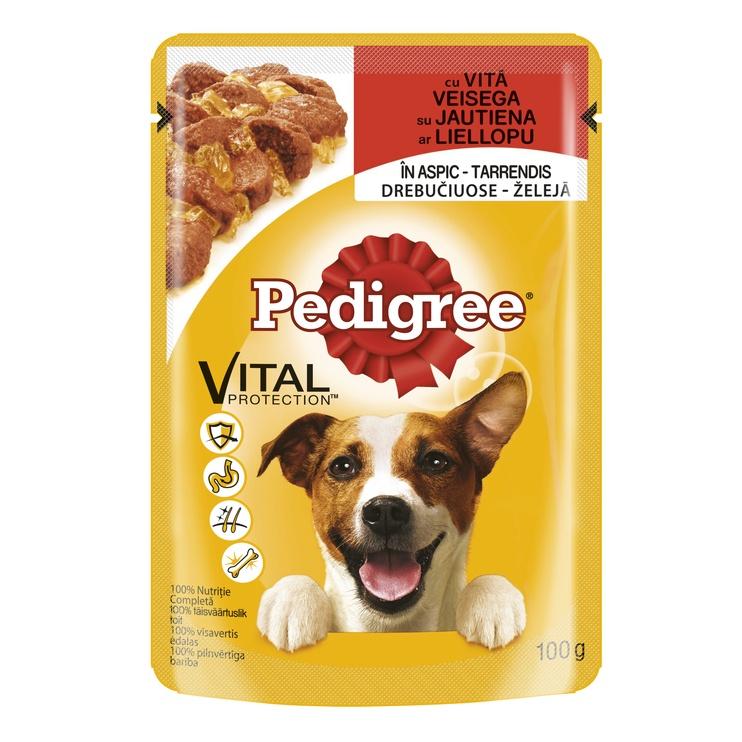 Konservuotas ėdalas suaugusiems šunims Pedigree, su jautiena, 100 gr