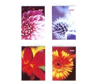 Herlitz Spiral Notepad A7 Assortment Flower 00111732