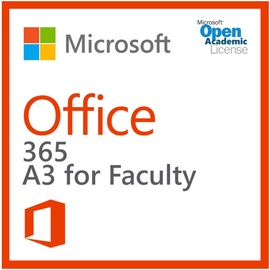 Microsoft Office 365 Plan A3 Open Faculty Shared Education