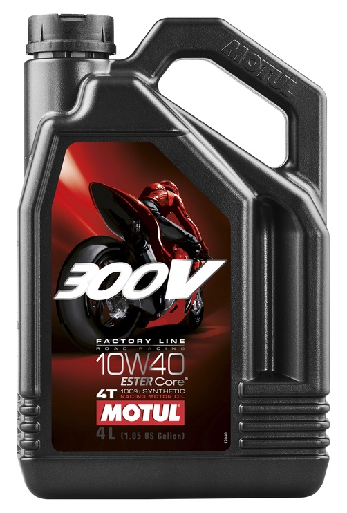 Motul 300V 4T Factory Line 10w40 Motor Oil 4l