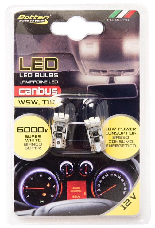 Bottari LED Canbus W5W T10 12V 2pcs 17874