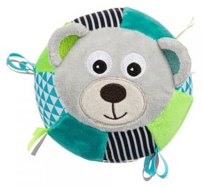 Canpol Babies Plush Sensory Ball With A Bell Bears Grey