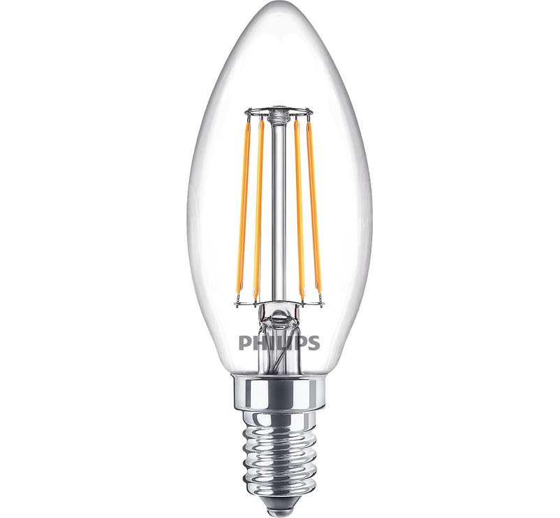 LED-LAMP PH FIL B35 4.3W E14 2700K 470LM