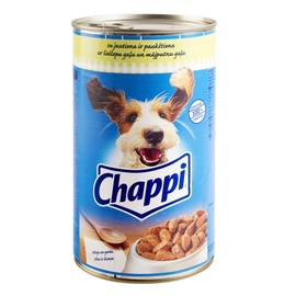 Konservuotas ėdalas šunims Chappi, su jautiena, 1.2 kg