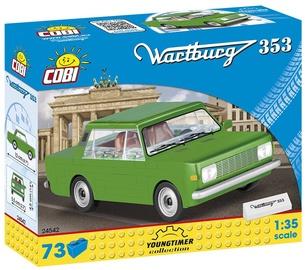 Cobi Youngtimer Collection Wartburg 353 73pcs 24542