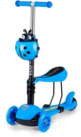 EcoToys Scooter Ride On With LED Wheels Blue 209507