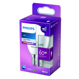 GAISM.D.SP.PHILIPS P48 7W E14 4000K MAT.