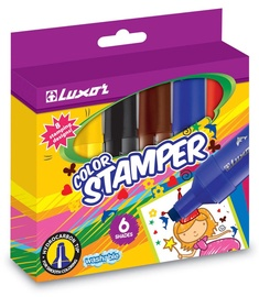 Luxor Color Stamper 6pcs 6170