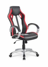 Biuro kėdė Roadster, juoda/balta/raudona