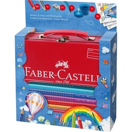 Цветные карандаши Faber Castell Hot Air Balloon Jumbo Grip, 25 шт.