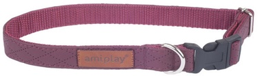 Amiplay Collar Cambrige M 25-40x1.5cm Purple