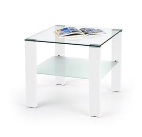 Kavos staliukas Simple H Kwadrat baltas, 60 x 60 x 55