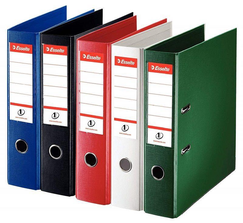 Esselte Folder No1 Power 7.5cm Gray