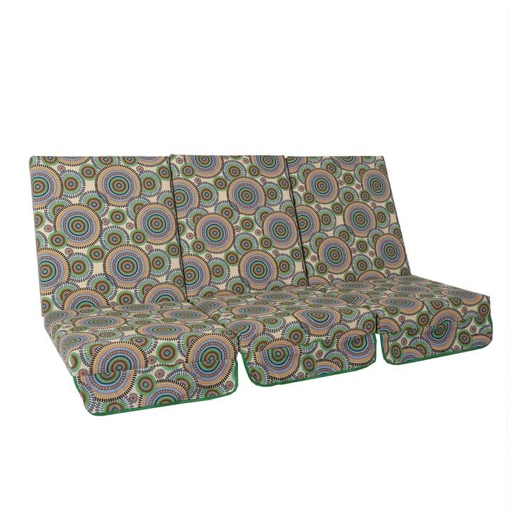 Pagalvė kėdei Home4you Montreal, 114x52x9cm, 3 vnt.