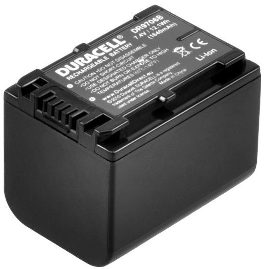 Duracell Premium Battery For Sony Camcorder HC3E 1640mAh
