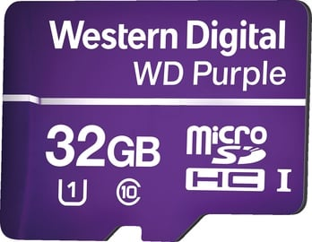 Western Digital Purple Micro SDHC 32GB