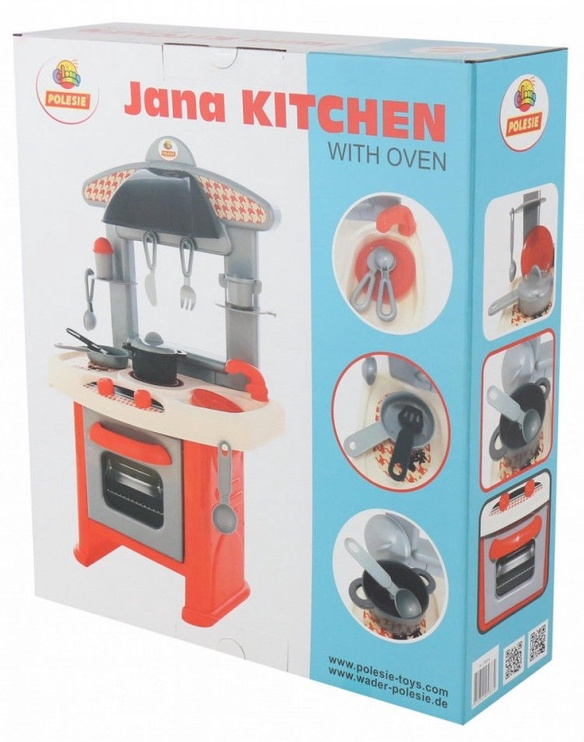 Wader Kitchen With Oven Jana 58874
