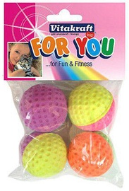 Vitakraft Rubber Balls 4pcs