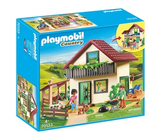 Konstruktorius playmobil country 70133 ūkis