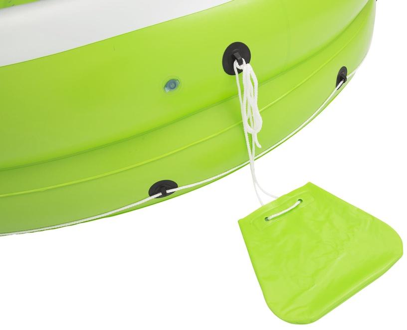 Täispuhutav tool Bestway, valge/roheline