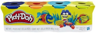 Hasbro PlayDoh 4-Pack Bold Color B6509