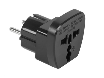Adapter Muud US Euro Power Adapter, 10 A, 220 V