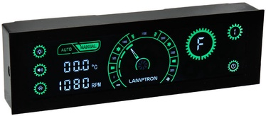 Lamptron CR430 LED and Fan Control Green/Black