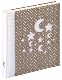 Альбом для фотографий Walther Stars & Moon Baby Album, коричневый