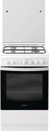 Indesit Freestanding Cooker IS5G2PHW/EU Black/White