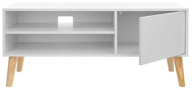 TV galds Songmics, brūna, 1100x400x495 mm
