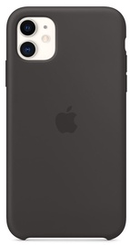 Apple Silicone Back Case For Apple iPhone 11 Black
