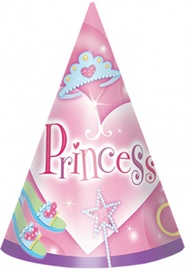 Amscan Princess Party Hats 6pcs