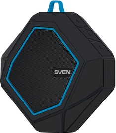 Belaidė kolonėlė Sven PS-77 Black/Blue, 5 W