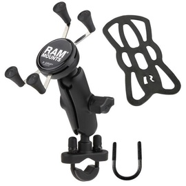 Telefono laikiklis Ram Mounts X-Grip Phone Mount With Handlebar U-Bolt Base