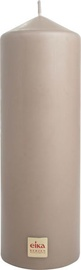 Eika Pillar Candle 21x7cm Brown