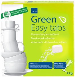 Kiilto Green Easy Tabs 100pcs